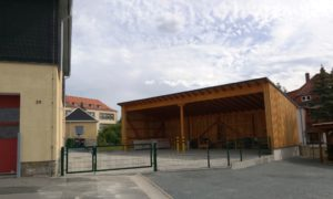Neubau Fahrzeugunterstand Bauhof